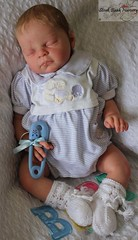 Reborn doll Liam from the Rebecca sculpt by Reva Schick reborned by me (Angeliquenz34) Tags: reborn dolls art collectables reborns baby rebecca sculpt reva schick revaschick