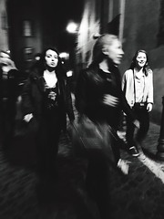 Blurred Motion Motion Speed Real People Lifestyles Two People Street Long Exposure Leisure Activity Young Adult Night Outdoors Women People Adult Blackandwhite Rome Monochrome Streetphotography Girl Walking Italy (Lifeinpicture) Tags: blurredmotion motion speed realpeople lifestyles twopeople street longexposure leisureactivity youngadult night outdoors women people adult blackandwhite rome monochrome streetphotography girl walking italy