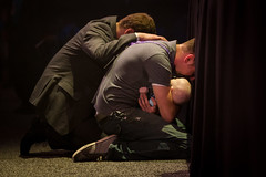 Church (Portfolio) (SimpleSkye) Tags: church jesus christ faith nazarene god worship dogma bible religious follower following heaven saved savior big mega large convention assembly religion dad father baby son daughter holding kneeling kneel praying pray awesome hand on back pastor grasping shirt infant altar head down powerful image guy male man dude general 2013 conference lord