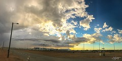Day 57 - Stoms comming (footsinperth) Tags: onslow sky wheatstone landscape iphone2017 3652017 clouds