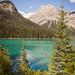 Emerald Lake canoe