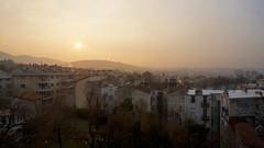 Sunrise over Trieste (ScotchBroom) Tags: sunrise alba trieste haze fvg friuliveneziagiulia morninglight morning mattina city