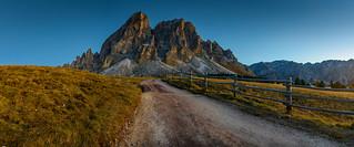 Road to Sass De Putia