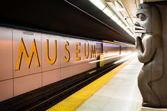 Museum Station (Lee Chu) Tags: project365 sonynex6 batis25 toronto ontario canada ttc metro