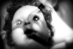 innocence (dockerm) Tags: double doppelt blackwhite face kinder children innocence unschuld