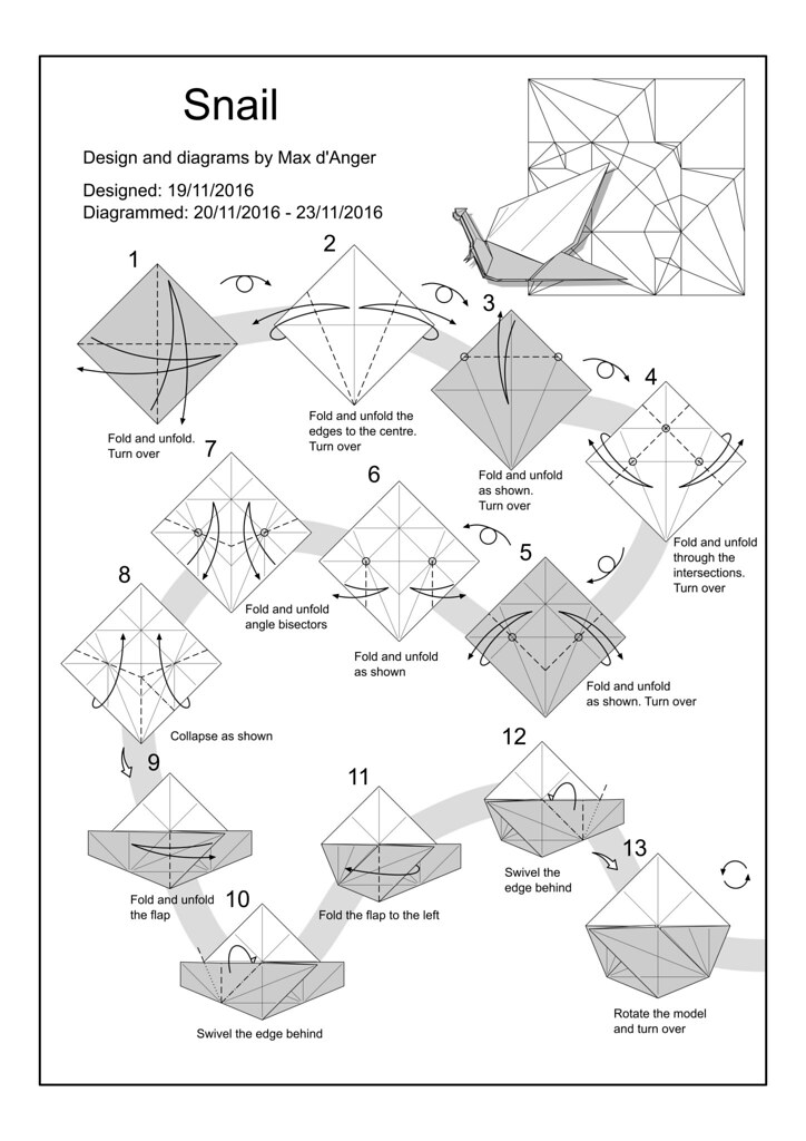 the world u0026 39 s most recently posted photos of diagram and origami