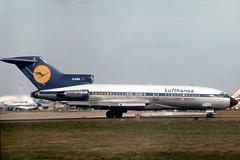D-ABIA Boeing 727-30C Lufthansa (pslg05896) Tags: dabia boeing727 lufthansa lhr egll london heathrow