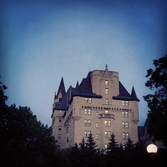 #chateau #laurier #hotel #ottawa #nighttime #iphone5 (Asif A. Ali) Tags: canada square ottawa nighttime squareformat backside chateau laurier iphoneography instagramapp uploaded:by=instagram