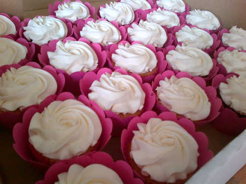Sometimes all you need is a rose swirl and a pretty pink wrapper...