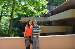 Fallingwater: Bridge (Olavia Kite) Tags: usa fallingwater
