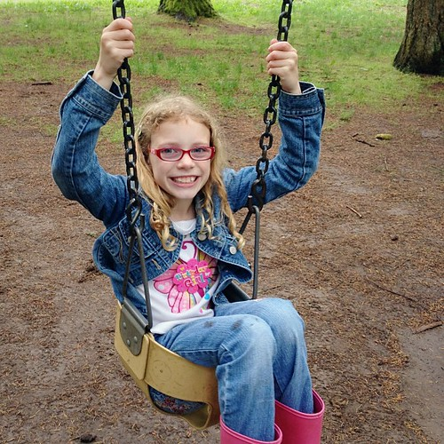 Happy 9th birthday to my amazing Sydney! She may be too big for the baby swing, but she