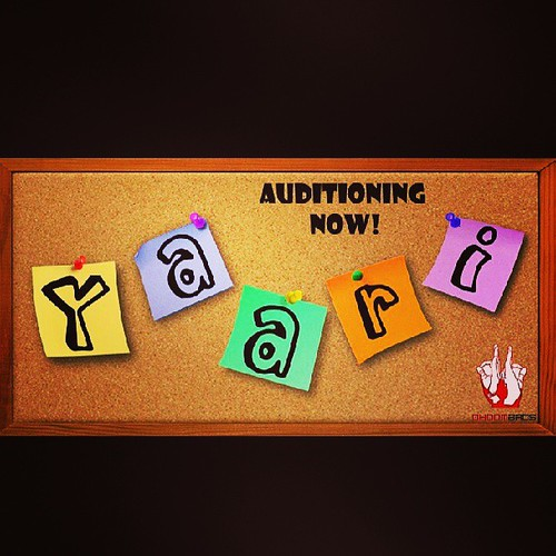 Auditioning now for our next project , Yaari. In order to participate, please fill in the form. http://dhoombros.com/form.pdf #Yaari #dhoombros