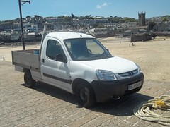 Peugeot Partner Pickup (occama) Tags: cornwall pickup local 2009 partner peugeot registration cornish