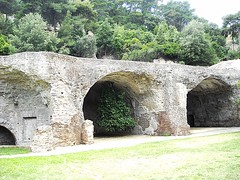 """Great hall (1st century BC) - The """"Imperial Palatium"""" of Baia (Naples), so-called Baths of Baia (* Karl *) Tags: italy"""