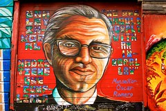scar Romero (tagois) Tags: sanfrancisco california usa murals mission balmyalley