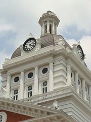 Morgan County Court House Tower & Clock---Madison, Ga. (bamaboy1941) Tags: clock ga clocktower madisonga georgiacountycourthouses courthousetowerandclock