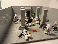 """My entry to -Holysmokes- """"How it should have ended"""" contest (501st Productions) Tags: star lego contest stop wars plans 501 holysmokes"""