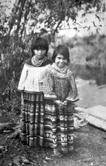 Seminole girls near Miami (State Library and Archives of Florida) Tags: girls beads 1930s clothing florida miami canals patchwork nativeamericans tamiamitrail dadecounty referencecollection seminoleindians floridaseminoles statelibraryandarchivesofflorida williamafishbaugh drainageinfrastructure