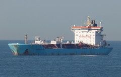 Maersk Tankers France. M/V Maersk Etienne. (Drive-By Photography) Tags: france ship cargo tanker chemical tankers maersk maersketienne 9274642