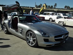 2010 Mercedes Benz SLS AMG coupe (sv1ambo) Tags: mercedes benz coupe sls amg 2010 2013 shannonseasterncreekclassic sydneymotorsportpark