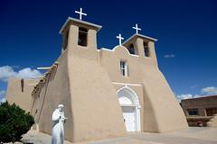 San Francisco de Asis Mission Church (chili5558) Tags: church taos d800 nikon2470mmf28