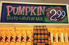 Pumpkins! Pumpkins! Pumpkins! (misterbigidea) Tags: orange holiday art halloween sign pumpkin bread baking chalk mix seasonal joe traderjoes lettering joes muffin chalkboard trader traderjoe paintpens