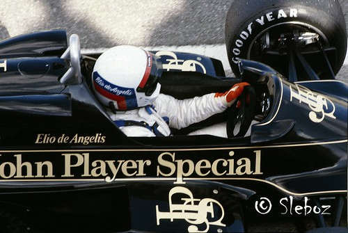 Elio de Angelis - Lotus 91 Ford Cos. DFV 3.0 V8