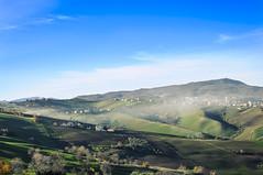 Haze on 'Za Franceschina's lands (RefuseAll) Tags: sky panorama mist mountain fog clouds 35mm landscape photography photo haze nikon nuvole day foto view cielo land fotografia nikkor f18 dslr nebbia montagna nikondigital abruzzo foschia d90 atessa 35mmf18 abbruzzo scorciagallo