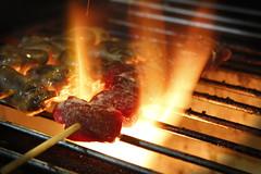 Churrasquinho (ossadah) Tags: original hotdog onion budweiser fogo brahma boteco coxinha cachaa chopp frutosdomar petisco churrasquinho acaraje natalicio