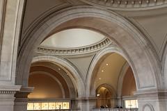 Arches at The Metropolitan Museum (SandorJ) Tags: nyc newyorkcity usa newyork museum architecture arch manhattan interior metropolitanmuseum themet metropolitanmuseumofart