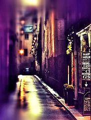 image (*SJH*) Tags: street streetart paris france rain cocktail nightlife happyhour