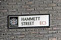 Hammett Street EC3 (City of London) (EZTD) Tags: signs streets london photo foto photos photographic september photographs fotos signage roadsign streetsigns streetname cityoflondon londonist fotograaf londonsigns photographes ec3 signcity 2013 streetnamesigns streetnameplates eztd eztdphotography september2013 photograaf londonstreetnameplates hammettstreet fotoseztd eztdphotos eztdgroup londonimagenetwork eztdlin