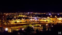 Pucela night (Héctor Monje Martínez) Tags: city bridge light españa night landscape puente luces noche cool nice spain sony bonito paisaje valladolid panoramica anochecer nocturno pucela amater hx10v