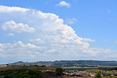 at the tip (dustaway) Tags: sky clouds landscape countryside day cloudy sunny bluesky nsw thunderstorm storms lismore northernrivers australianweather wilsonsrivervalley