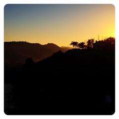 Slanta Rosa. (infa_reds) Tags: november autumn sunset art fall losangeles sundown dusk perspective hills socal 365 iphone bestview bestphoto 2013 uploaded:by=flickrmobile flickriosapp:filter=nofilter