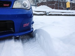 """Snow """"drifts"""""""