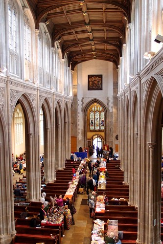 View from the Organ Loft St Mary