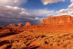 Desert Solitude 30 (eScapes Photo) Tags: arizona desert monumentvalley mesa mittens buttes collectionslideshow