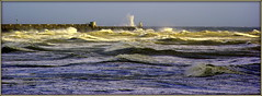 Stormy sea (* RICHARD M (Over 6 million views)) Tags: sea wild england panorama seascape storm water weather sussex coast brighton waves power seascapes westsussex action pano stormy panoramic gale spray gales seawall coastal maritime coastline seafront storms resorts mothernature englishchannel stormsurge scapes extremeweather stormyweather seaspray bruteforce lamanche stjude highseas wildweather roughseas stormyseas lowpressure theelements tidalsurge thecruelsea windyweather forcemajeure stjudestorm