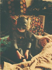 351 of 365 - Bat-Venger? ([ the black star ]) Tags: boy kid toddler mask things kingston stuff pjs superhero batman cape imagination pajamas shrug avengers pretend 351365 theblackstar threehundredfiftyone thelittlemister uploaded:by=flickrmobile throwbackfilter flickriosapp:filter=throwback