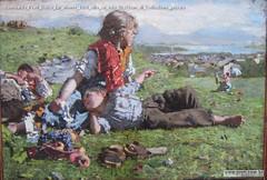 Romualdo Prati Dolce far niente 1894 olio su tela 52x76cm di Collezione privata