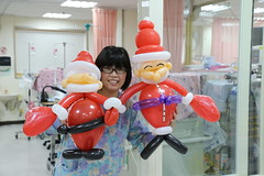 , , ,Merry Christmas (girl Taiwan199212) Tags: hospital balloon taiwan santaclaus merrychristmas