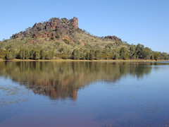 Mt Isa. Artificial lake near the city.