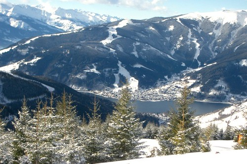 Zell am See im Winter
