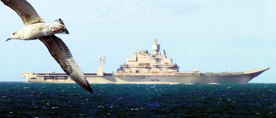 «Викрамадитья» подходит к индийским берегам