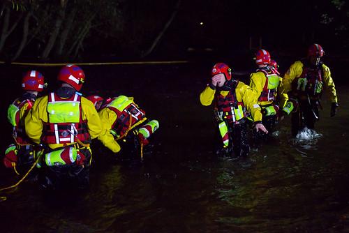 Night Training on the River Bala