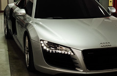 Audi R8 (Edir Manzano) Tags: brasil silver 50mm nikon nikond50 nikkor audi v8 matogrosso r8 detailing 50mm18 cuiab luxurycarcarebrasil