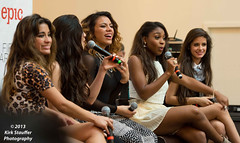 Fifth Harmony @ Westfield Southcenter Mall (Kirk Stauffer) Tags: show seattle lighting portrait musician music woman usa brown cute lauren girl female mall hair lights washington concert ally nikon women long pretty tour jane song 5 live stage south gig hamilton band august center brooke pop teen wash harmony sing singer indie teenager wa seahawks camila brunette superbowl dinah hansen broncos 5th vocals kirk hernandez cabello fifth teenage stauffer d4 xfactor southcenter jauregui 5h 2013 normani dinahjanehansen laurenjauregui normanihamilton camilacabello fifthharmony allybrookehernandez