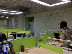 Modern office Longguan Shenzhen China (dcmaster) Tags: china modern office shenzhen longguan