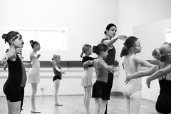 Ballet Instruction (Erin Claassen Photography) Tags: bw ballet dance ballerina learning practice instruction